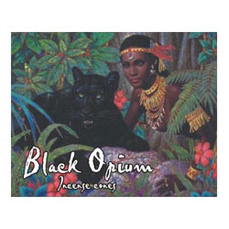 Black Opium Incense Cones
