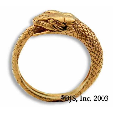 Gold Jormungandr Ring