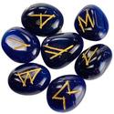 Blue Onyx Elder Futhark Runes