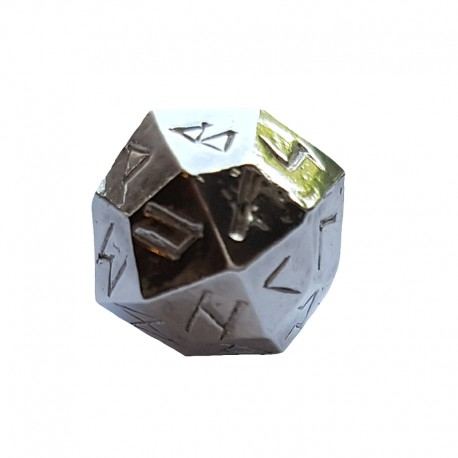 Rune Dice Single Plain