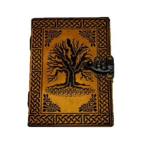 Embossed Yggdrasil Journal, Tree of Life Journal