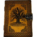 Embossed Yggdrasil Journal