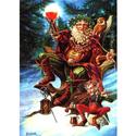 Festive Druid Yule Card