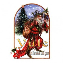 Yule Herne Briar Yule Card BY14