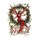 Mistletoe Fairy Yule Card