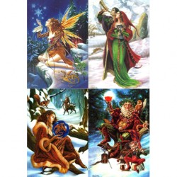 Briar Yule Card Multi-pack BY10