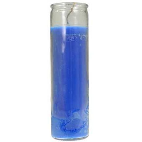 Dark Blue Jar Candle