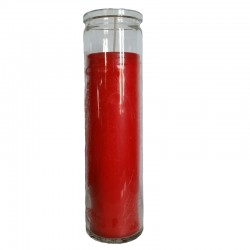Red Jar Candle