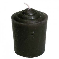 Black Votive Candle