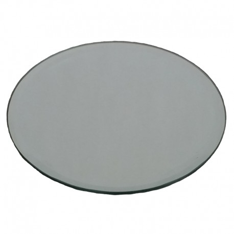 Mirror Plate Circle Candle Holder