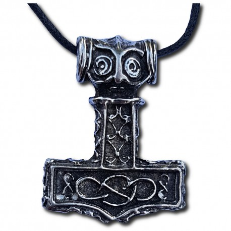 Pewter Thor's Hammer Pendant