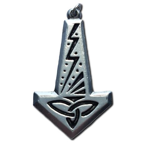 Lightning Thor's Hammer Pendant