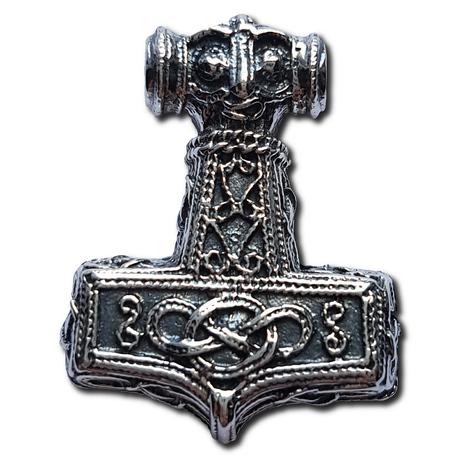 Silver Knotwork Hammer