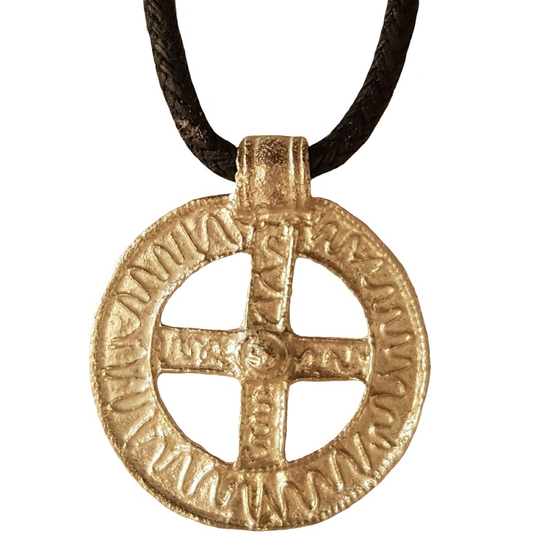 Viking Protection Pewter Pendant