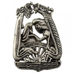 Lif and Lifthrasir Pendant