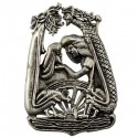 Lif and Lifthrasir Pewter Pendant