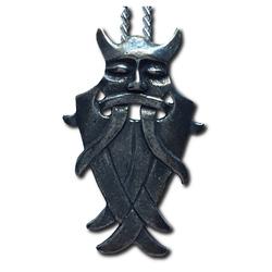 Odin's Mask Pewter Pendant