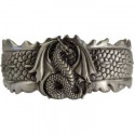 Dragon Scale Pewter Bracelet