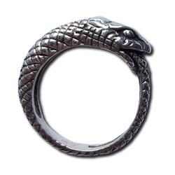 Silver Jormungandr Ring