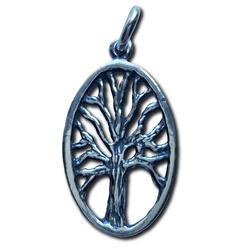 Silver Yggdrasil Pendant