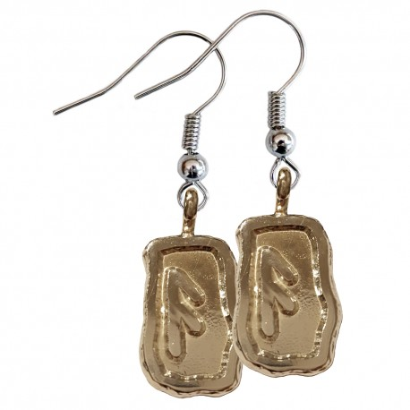 Ansuz Earrings