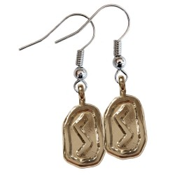 Sowilu Silver Rune Earrings
