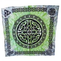 Shield Knot Tie Dye Altar Cloth