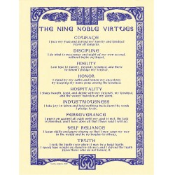 Nine Virtues Poster