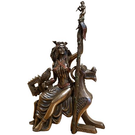 Frigga Statue Front