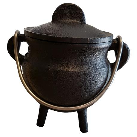 Classic Cauldron w/Lid, Black