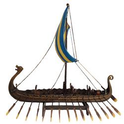 Longboat Statue