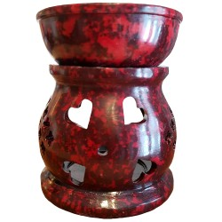 Red Oil Burner Oil Diffuser Front