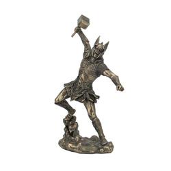 Bronze Thor Garden Statue