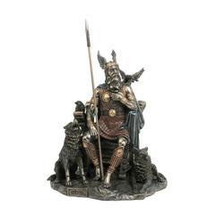 Bronze Odin Garden Statue