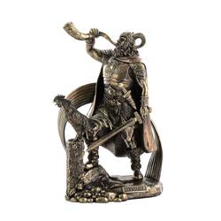 Bronze Heimdall Garden Statue