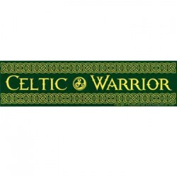 Celtic Warrior Bumper Sticker