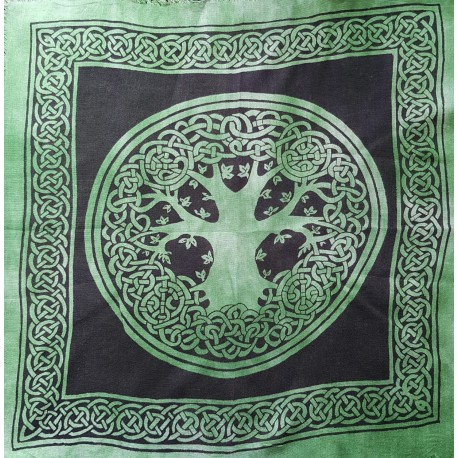 Yggdrasil Altar Cloth, Tree of Life Altar Cloth