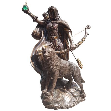 Skadi Statue 8930