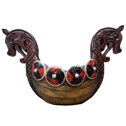 Longboat Candle Holder