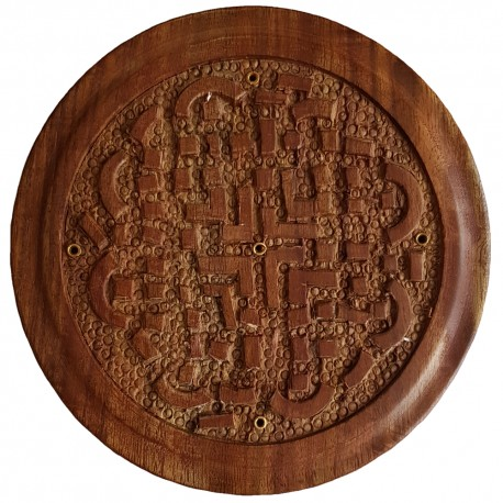 Celtic Knot Incense Burner Plate