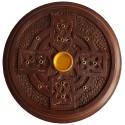 Celtic Cross Incense Burner Plate