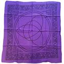 Purple Triquetra Altar Cloth