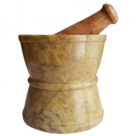 Hourglass Mortar & Pestle