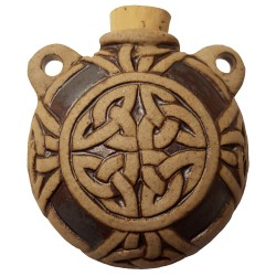 Celtic Knot Oil Bottle