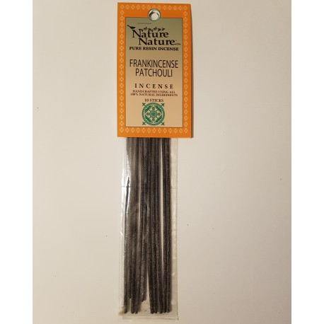Frankincense & Patchouli Incense Resin Sticks