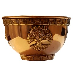Copper Yggdrasil Offering Bowl