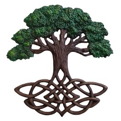 Yggdrasil Plaque | Tree of Life Plaque