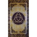 Green Triquetra Tapestry