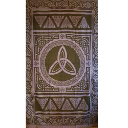 Purple Triquetra Tapestry