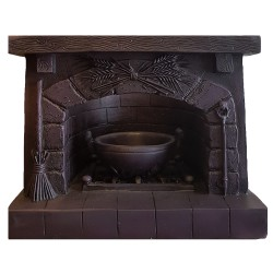 Hearth Candle Holder